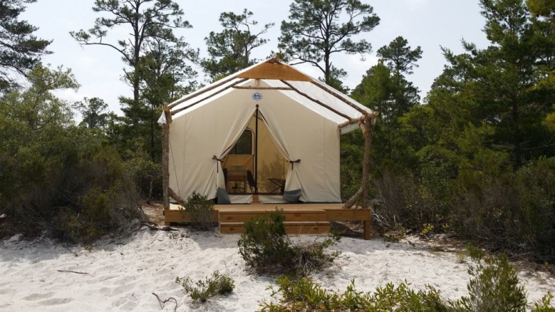 New Gulf State Park Campsites generating attention for the Park and Alabama (photo: Gulf State Park)
